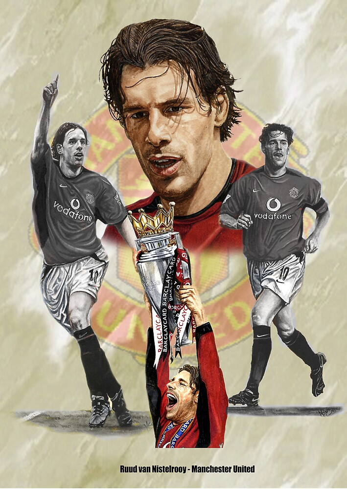 Van Nistelrooy by Martin Lynch-Smith