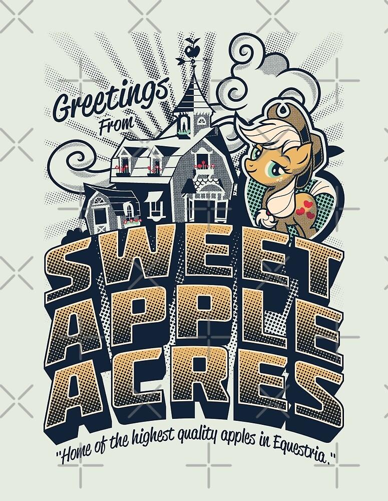 Greetings from Sweet Apple Acres by Gilles Bone