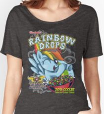 Rainbow Drops - Total Awesome! Women's Relaxed Fit T-Shirt