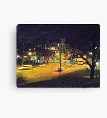 Gothenburg By Night Canvas Print