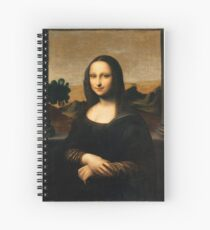Mona Lisa - The Isleworth -Top Resolution Spiral Notebook