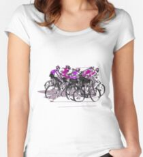 Cyclists Women's Fitted Scoop T-Shirt