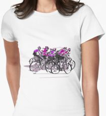 Cyclists Women's Fitted T-Shirt