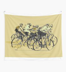 Cyclists Wall Tapestry