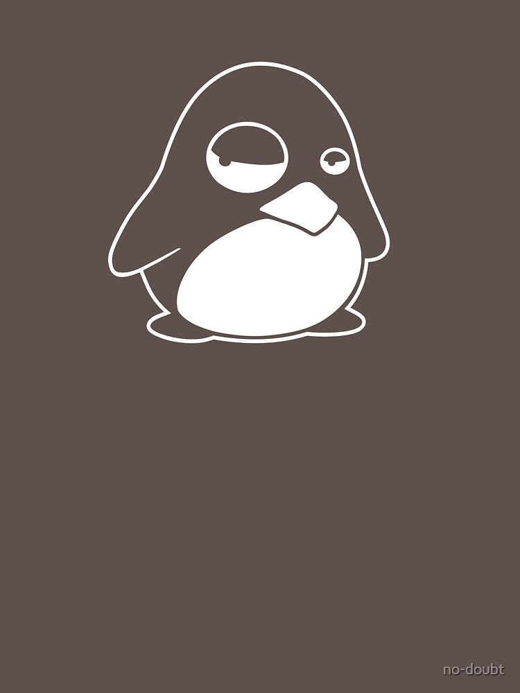 TUX Penguin in a bad mood, LINUX  by no-doubt
