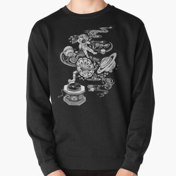 Space Music Pullover Sweatshirt
