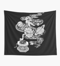 Space Music Wall Tapestry