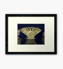 The Glowing Vase Framed Print