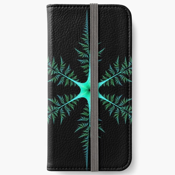 Blue-Green Diatom iPhone Wallet