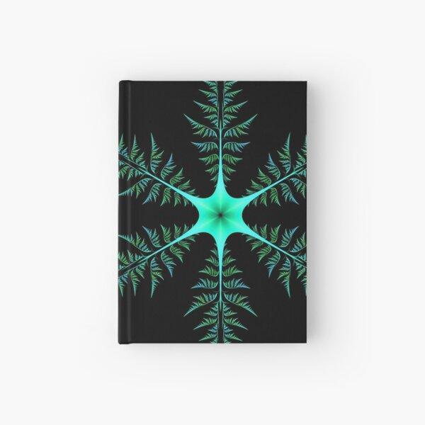 Blue-Green Diatom Hardcover Journal