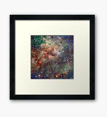 Into the Spider Nebula Framed Print
