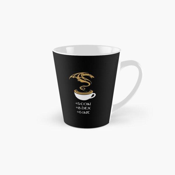 Coffee Stats Tabletop RPG Addict Tall Mug