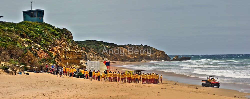 Jan Juc SLSC new uniforms by Andy Berry