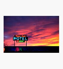 Motel- No Vacancy Photographic Print