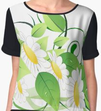Floral Women's Chiffon Top