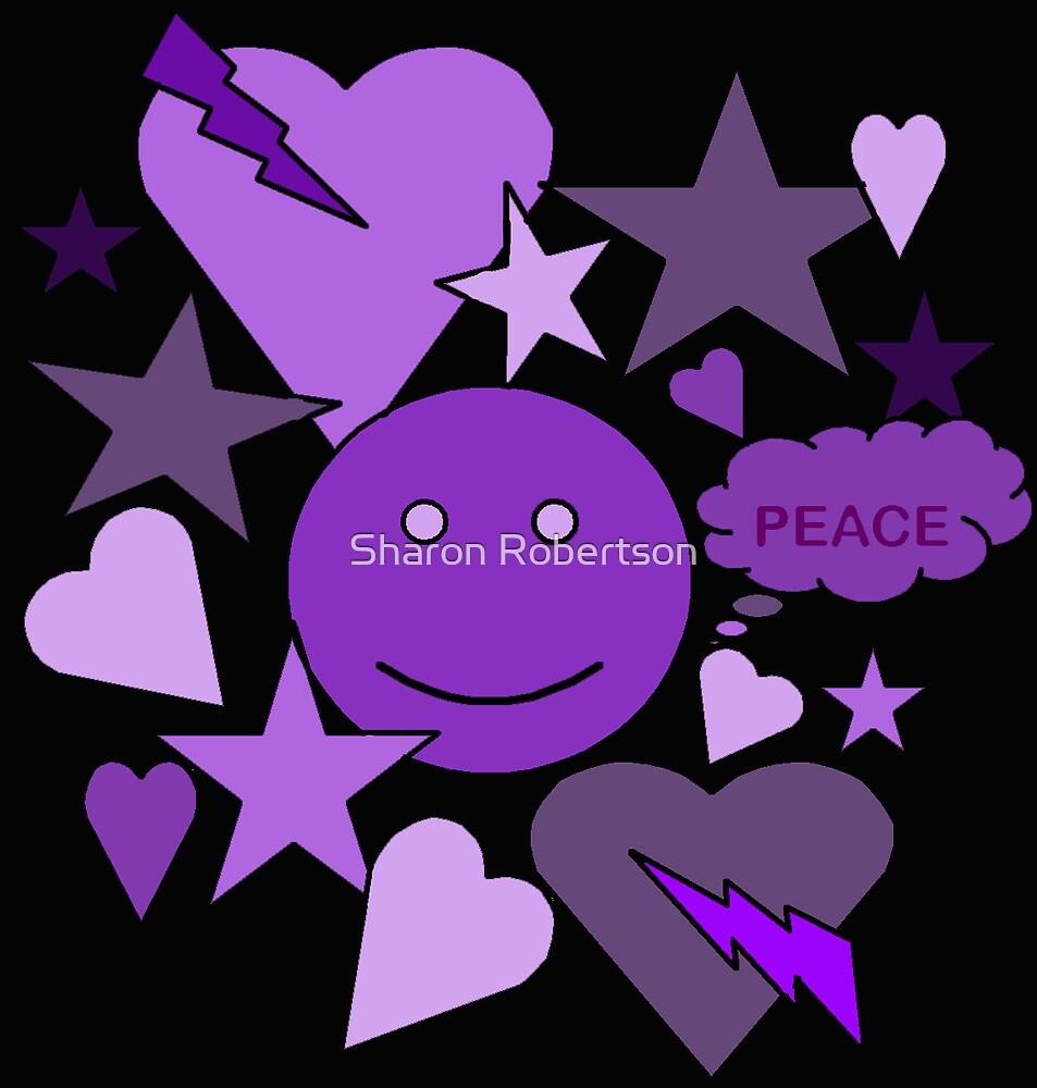 Purple Peace by Sharon Robertson
