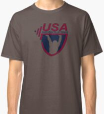 NICE T-SHIRT Team Usa Olympic Weightlifting New Product Classic T-Shirt