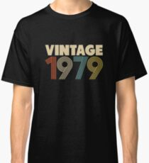 Vintage 1979 - 39th Birthday Classic T-Shirt
