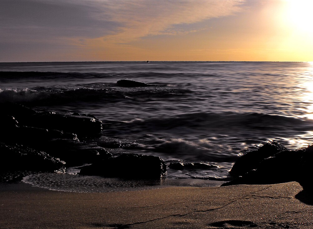 Morning at Shelly Beach by Simmone