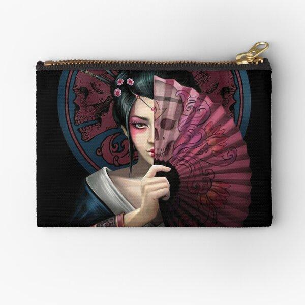Geisha Warrior Zipper Pouch