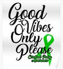 Support Cerebral Palsy Awareness Design Poster