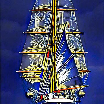 Sailing Ship by cybermall