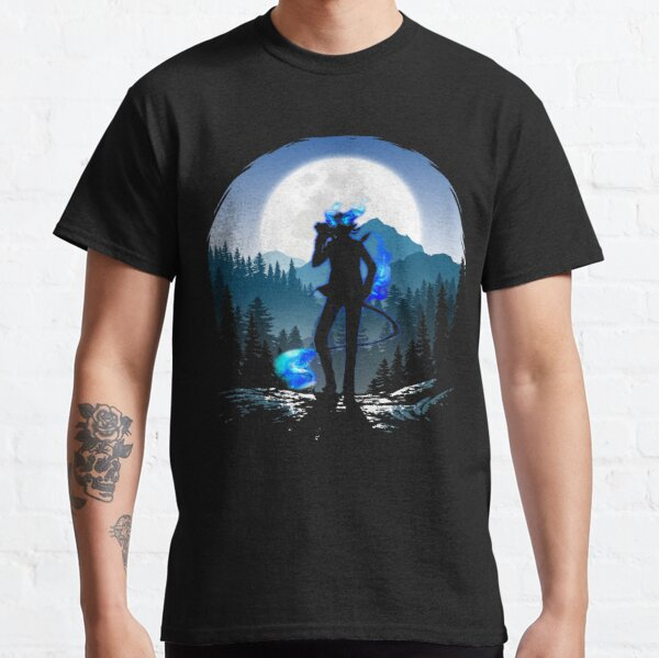 Rin blue tail with Kuro Classic T-Shirt