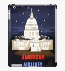 Washington Travel Poster iPad Case/Skin
