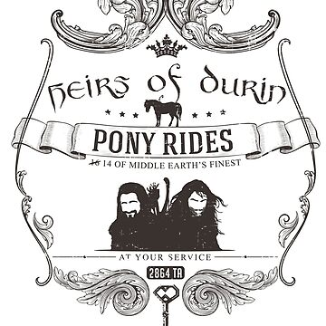 Heirs of Durin Pony Rides by aviaa