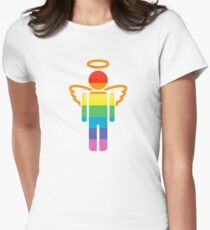 angelicon Womens Fitted T-Shirt