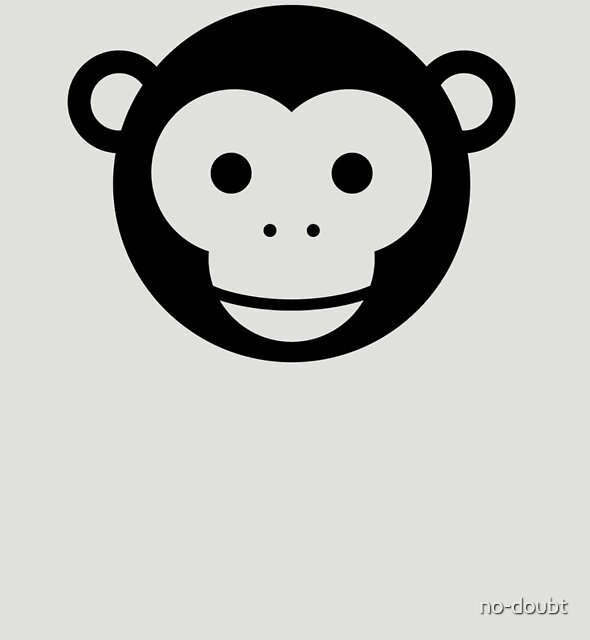 Monkey - Simple Face Ver. 1.0 by no-doubt