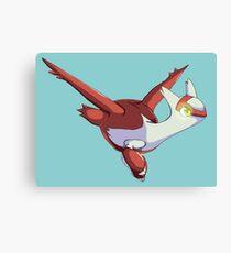 Adorable Gliding Latias Canvas Print
