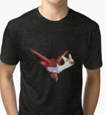 Adorable Gliding Latias Tri-blend T-Shirt
