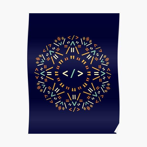 Code Mandala - Html Poster