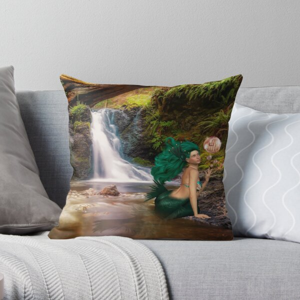 Tjirell, die Meerjungfrau Dekokissen