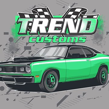 MUSCLE CAR TREND CUSTOMS by mojokumanovo