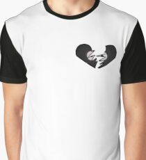 Vinyl Heart Graphic T-Shirt