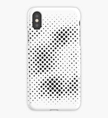 Honey Bee Vector - Classic Black And white iPhone Case/Skin