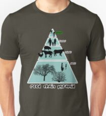 Food Chain Pyramid Unisex T-Shirt
