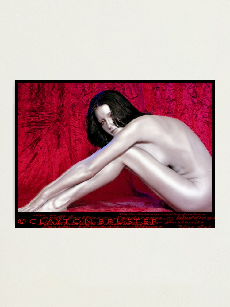 Alternate view of Chrome Beauty Photographic Print