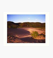 Purple Shadows Of Walden Sand Dunes... Art Print