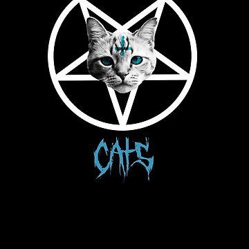 Metal Cat Design 1 by CalumMargetts