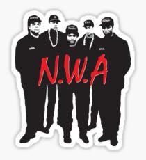 N.W.A. Sticker
