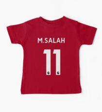 Mohamed Salah - Liverpool 2017/18 Home Baby Tee