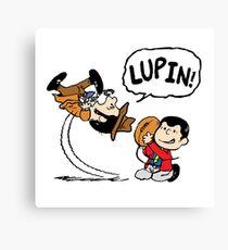 Lupin Peanuts Canvas Print