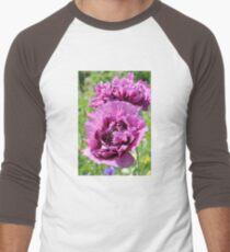 Beautiful Double Purple Poppy T-Shirt
