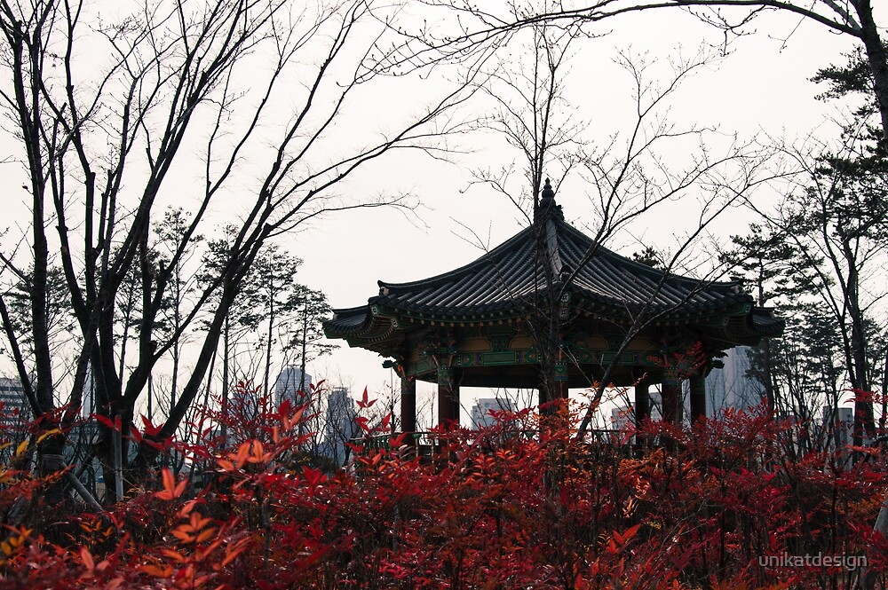 Winter mood in Korea by unikatdesign