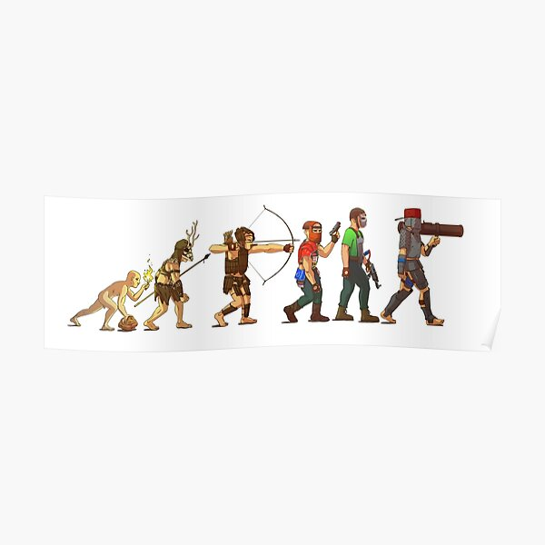 Rust evolution Poster