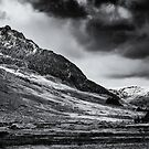 Tryfan Mountain East Face by Adrian Evans