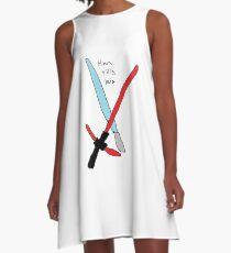 Han did kill leia A-Line Dress